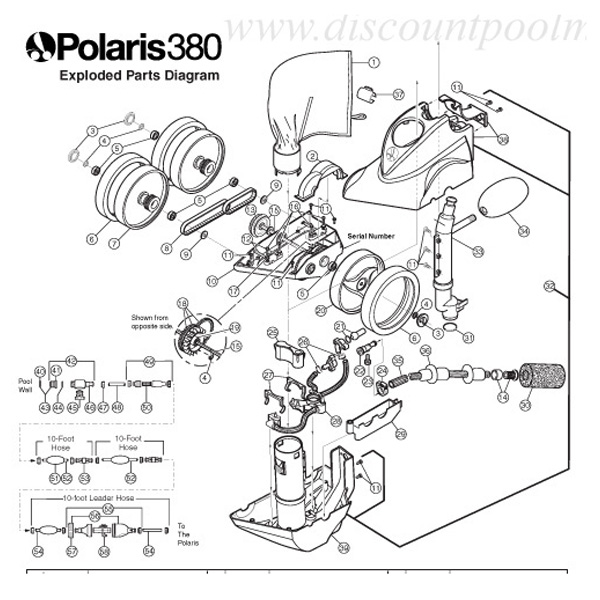 Automatic Pool Cleaner Parts, Polaris, Hayward Pool