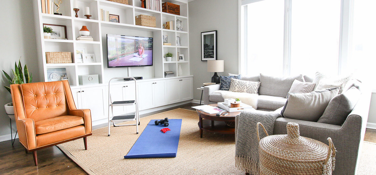 living room cheap wall stickers australia this is how i made my into a secret gym