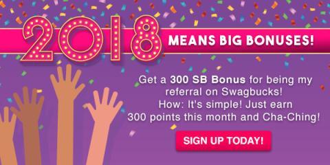 Swagbucks: Quick Tip - Earn your 300 SB Referral Bonus - GPT