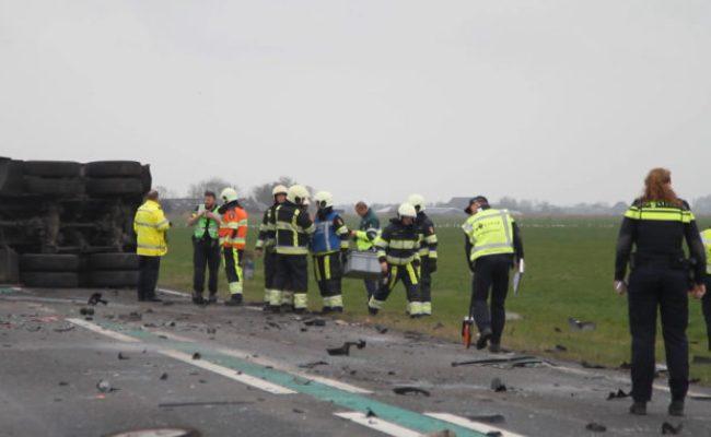 Automobilist Komt Om Bij Ernstig Ongeval Op N361 Gptv De