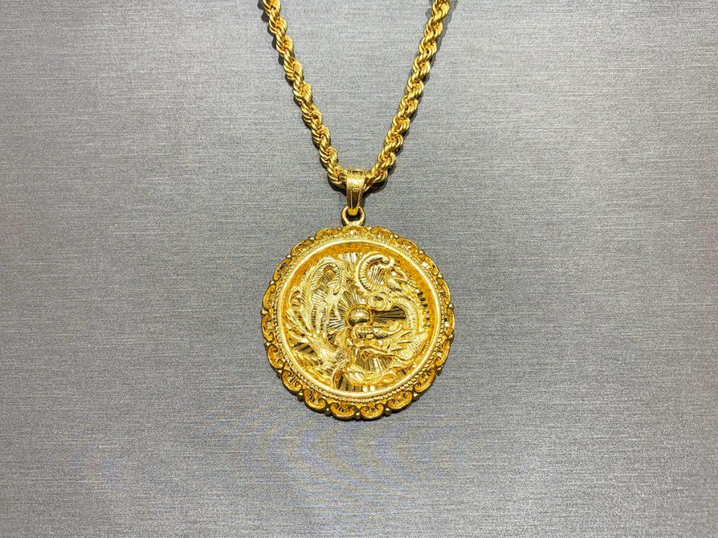 黃金回收實例-黃金項鍊、黃金墜子回收 | 詠信黃金回收