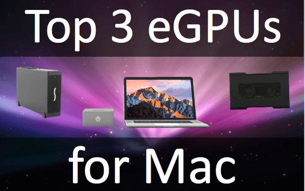 Best eGPU for Mac