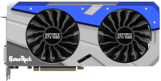 Best GTX 1080 with dual bios Palit Gamerock