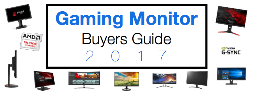 best gaming monitor buyers guide