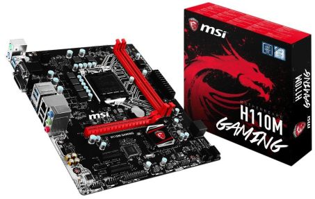 MSI Gaming Intel Skylake H110 LGA 1151 DDR4 Motherboard 600 Gaming PC Build