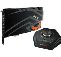 ASUS STRIX RAID DLX Enthusiast Gaming Sound Card