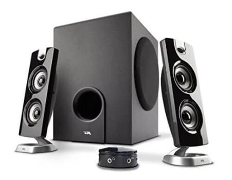 Cyber Acoustics Powered Computer Speakers under 50 dollars