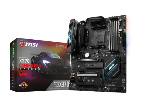 MSI X370 Gaming Pro Carbon AM4 Gaming Motherboard