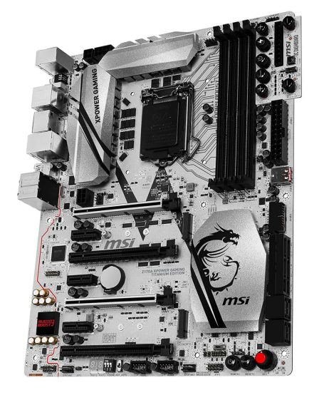 MSI Z170A XPOWER GAMING TITANIUM EDITION best performance mobo for i7-6700k
