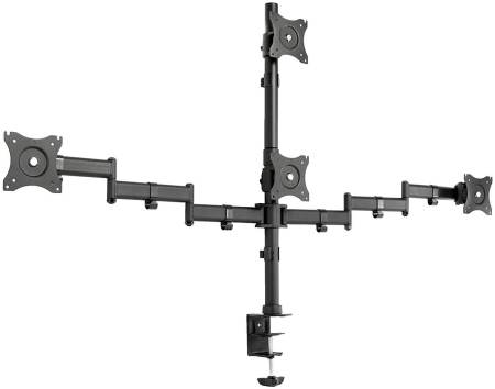 VIVO Quad Monitor Heavy Duty Desk Mount