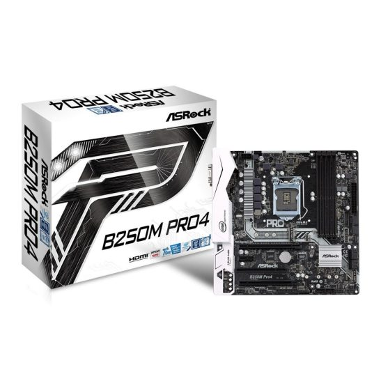 ASRock B250M Pro4 Micro ATX Motherboard for Gaming