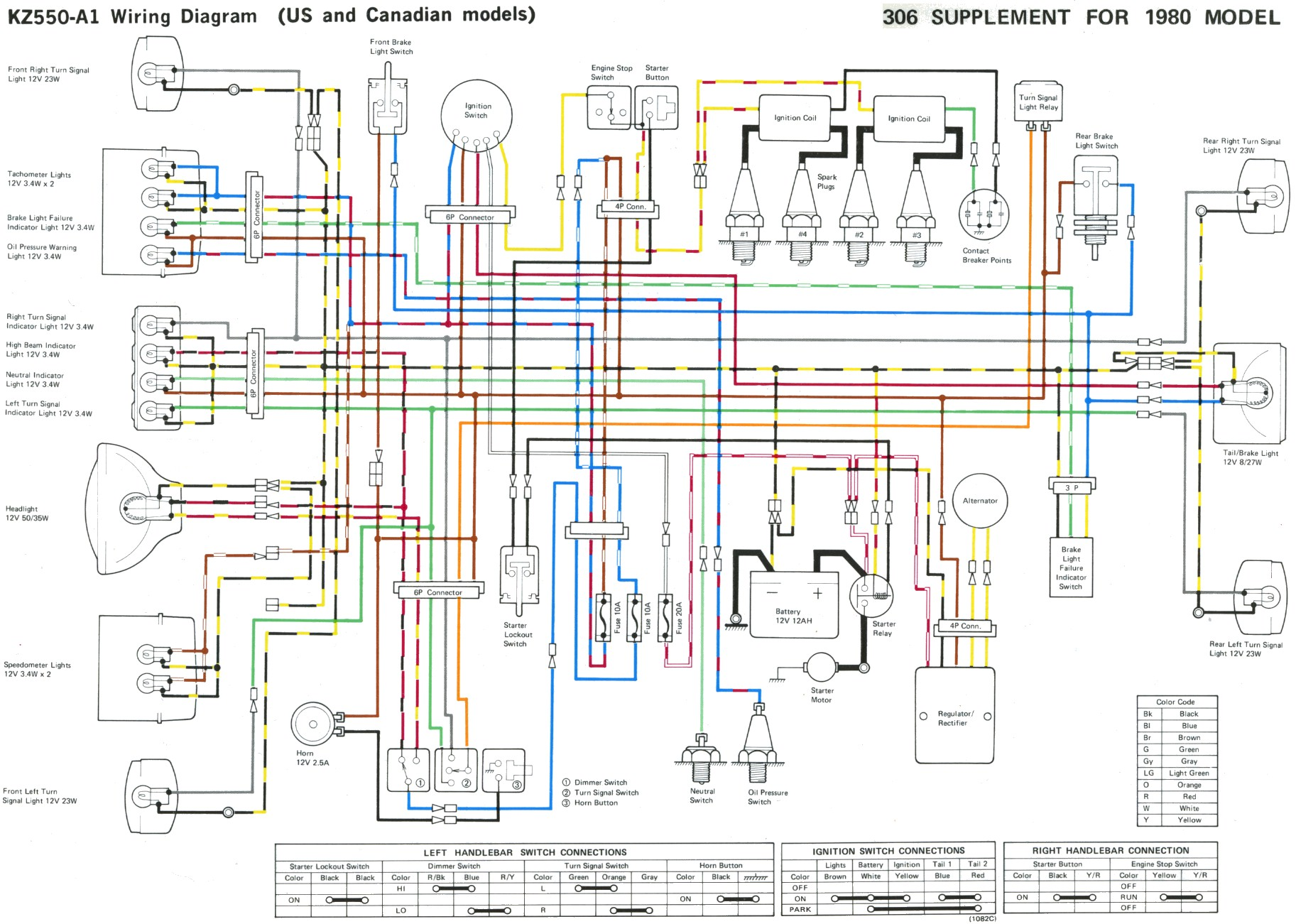 1979 kawasaki kz1000 wiring diagram 97 ford explorer audio some kz 400 500 550 wire diagrams