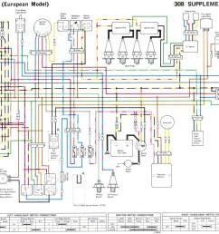some kz 400 500 550 wire diagrams 1982 kz550 wiring diagram kz550 wiring diagram [ 1851 x 1179 Pixel ]