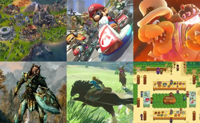 Nintendo Switch The Best Games To Play In 2019 British Gq