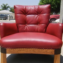 red-leather-chair