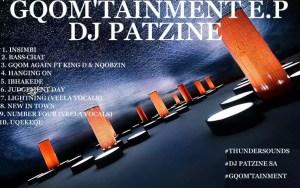 DJ Patzine - GQOM'TAINMENT E.P