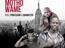 Vee Mampeezy feat. Professor & Character - Motho Wame