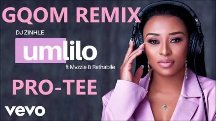 DJ Zinhle - Umlilo ft. Mvzzle & Rethabile (PRO-TEE Remix)