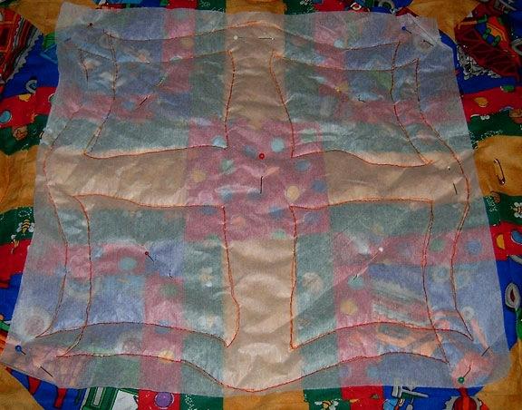 Tissue Paper Quilt Marking (4/6)