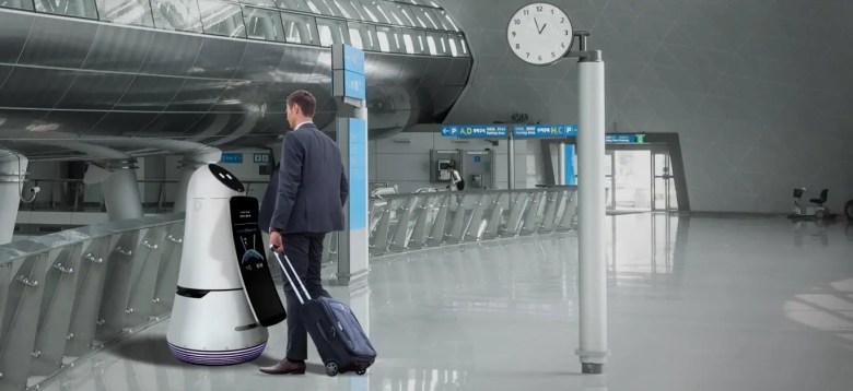 Airport Robots