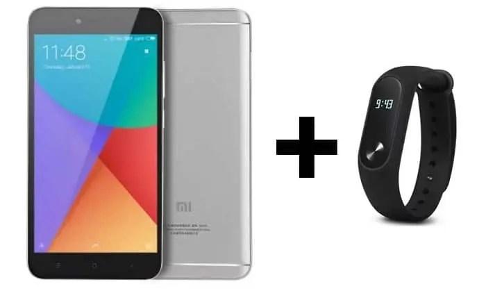 Redmi Note 5A: δικό σας με 93€ και δώρο ένα Mi Band 2!