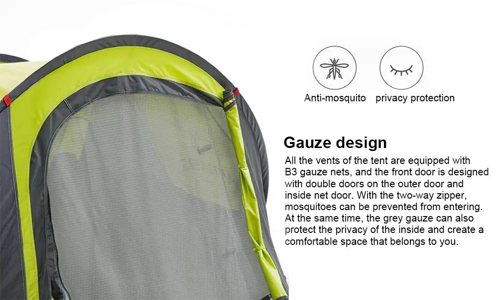 c14c2f4ba60 Την έξυπνη σκηνή Xiaomi Automatic Instant Popup Waterproof Tent την  εντοπίσαμε στο Gearbest με τιμή 60€! Επιλέξτε αποστολή με Priority Line για  να μην έχετε ...