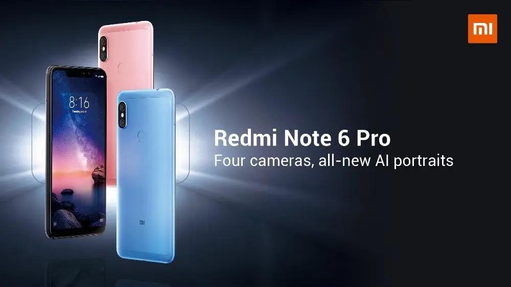 Redmi Note 6 Pro: πιο χαμηλά από ποτέ και οι δύο εκδόσεις, από 146€!! Βιαστείτε!