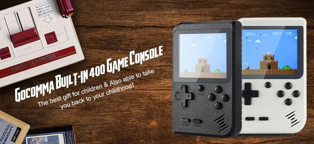 Gocomma Built-in 400 Game Console