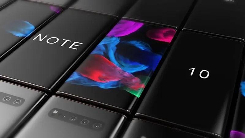 Galaxy Note 10: Δείτε ένα όμορφο concept video της συσκευής