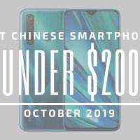 TOP: 5 «must have» κινέζικα smartphones στα... $200! (Οκτώβριος 2019)