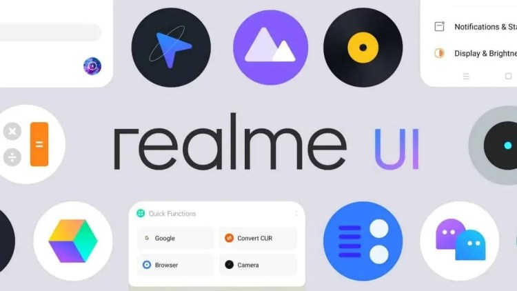 Realme UI Android 10