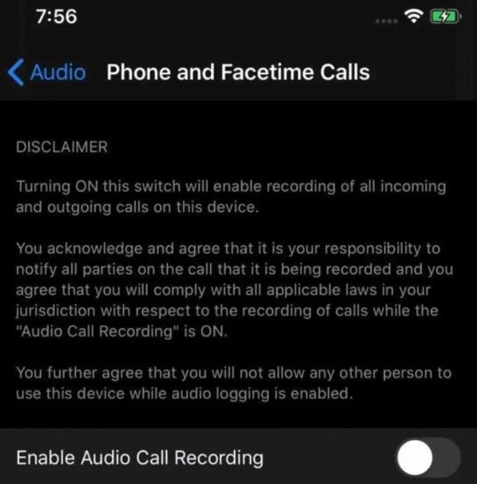 Apple iOS 14: έρχεται υποστήριξη για καταγραφή κλήσης