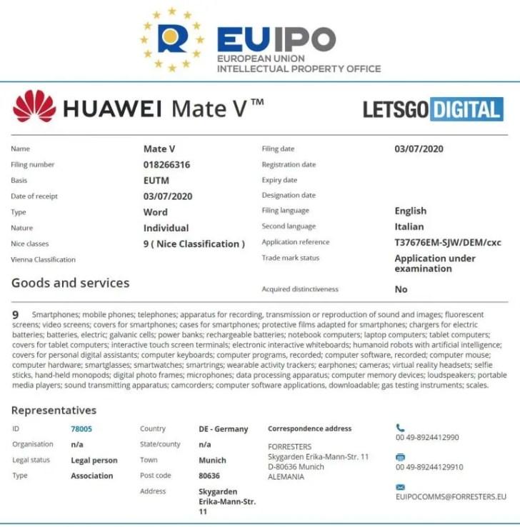 Huawei Mate V