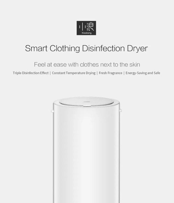 Smart Clothing Disinfection Dryer