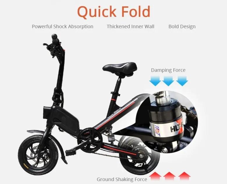OUXI V1 Folding Electric Bike