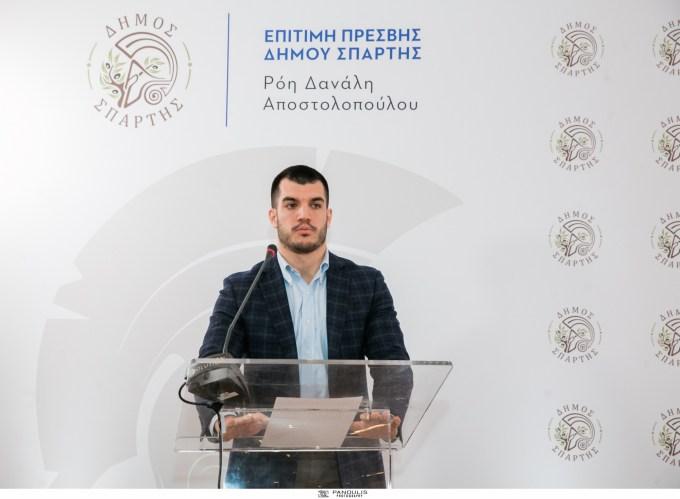 Ο Δήμαρχος Σπάρτης και η επίτιμη Πρέσβης της πόλης Ρόη Δανάλη – Αποστολοπούλου παρουσίασαν την κοινή τους δράση, για την προβολή της πόλης  σε διεθνές επίπεδο