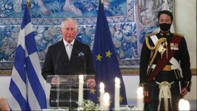 Πρίγκιπας Κάρολος: «Χαίρε, ω χαίρε, ελευθεριά! Ζήτω η Ελλάς!»
