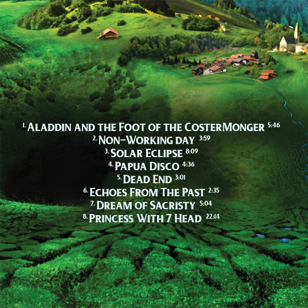 Front – Echoes from the Past (CD) back cover