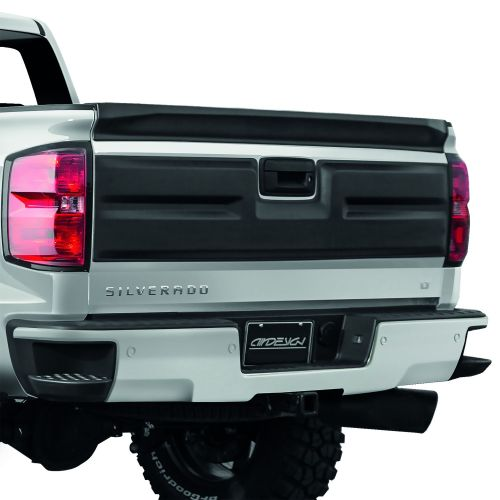 small resolution of air design 2016 2018 chevy silverado tailgate applique cover satin black