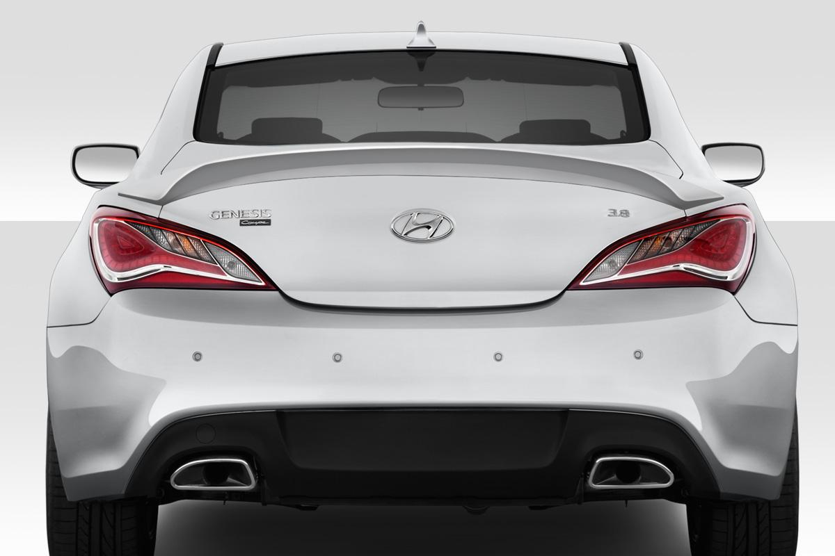 hight resolution of 2010 2016 hyundai genesis coupe 2dr duraflex msr rear wing spoiler 1 piece