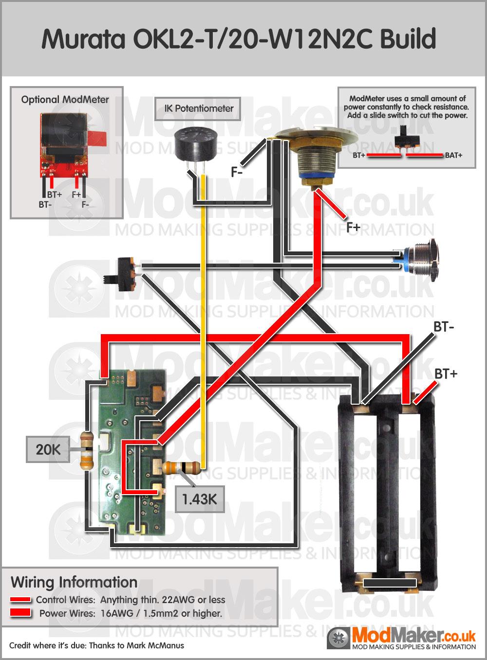 hight resolution of e cig box mod unregulated wiring diagram
