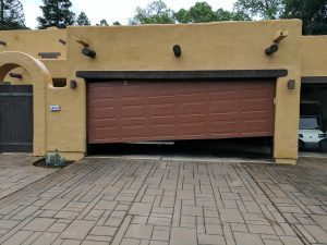 off-track garage door