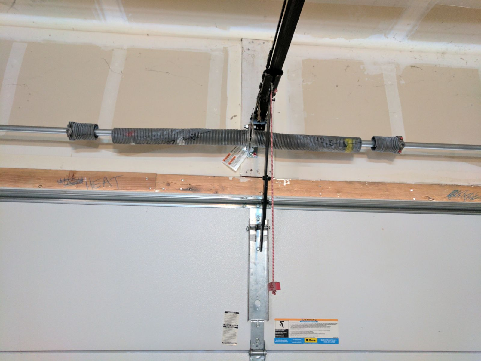 What Should I Do When My Garage Door Spring Breaks Gr8 Garage Door