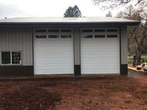 high opening residential garage door installation
