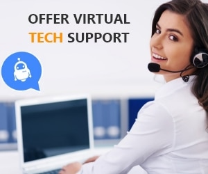 Offer Virtual Tech Support