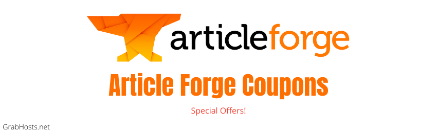 Article Forge Coupon