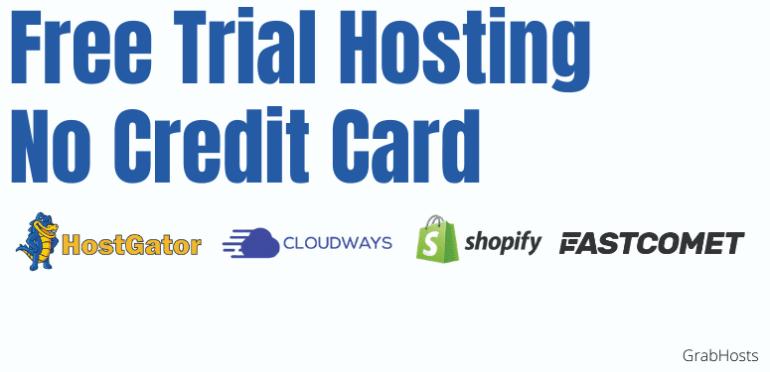 Free Trial Hosting No Credit Card