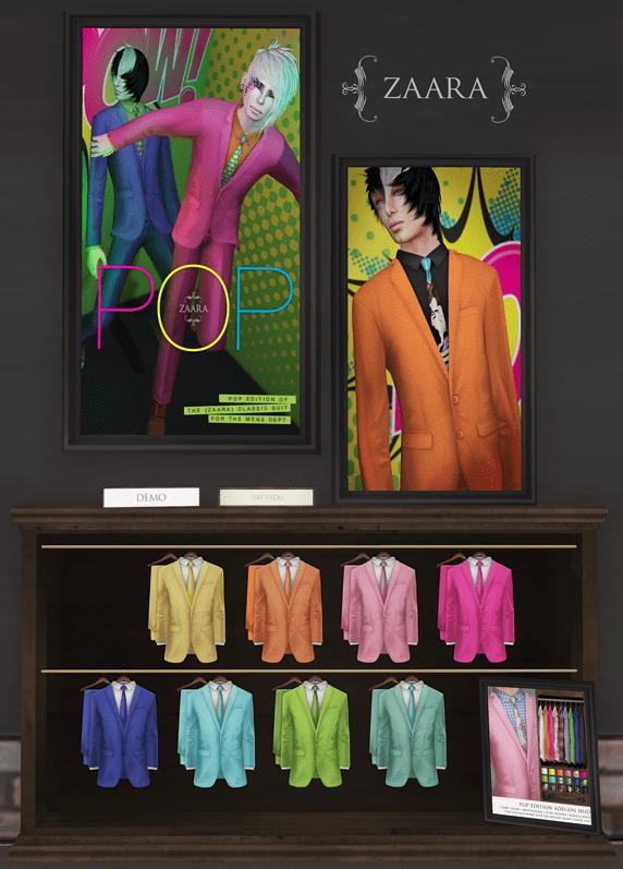 Zaara : [Mesh] Classic Suit Brights