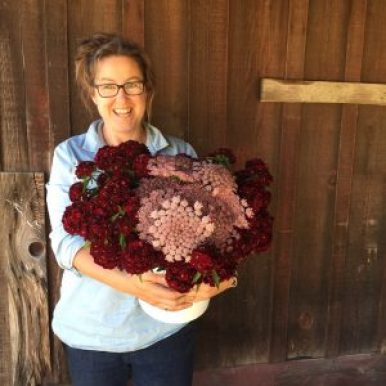 B-Side Flower Farm owner, Lennie Larkin