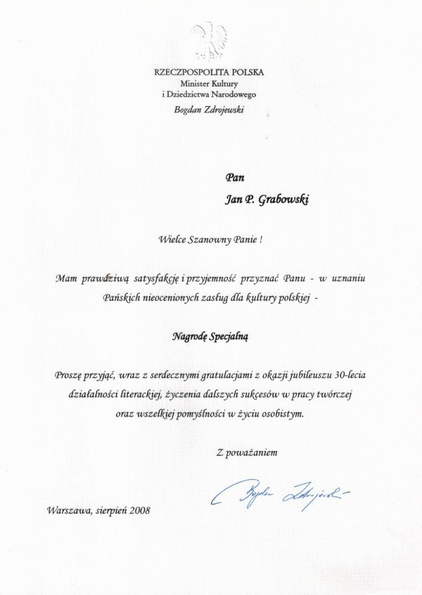 2008_sierpień_Nagroda-Specjalna_Minister-KiDN_zm